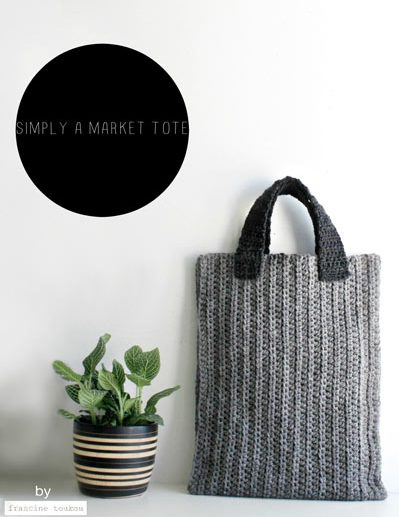 market tote pattern